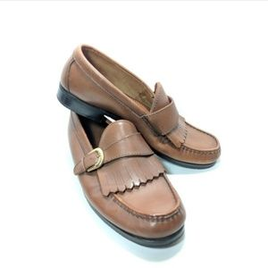 David Taylor Buckled Loafers Men's Size 8.5